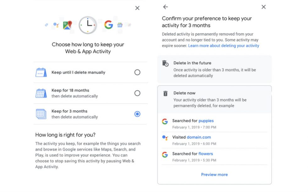 Coming Soon Auto Delete Your Google Location History And Activity