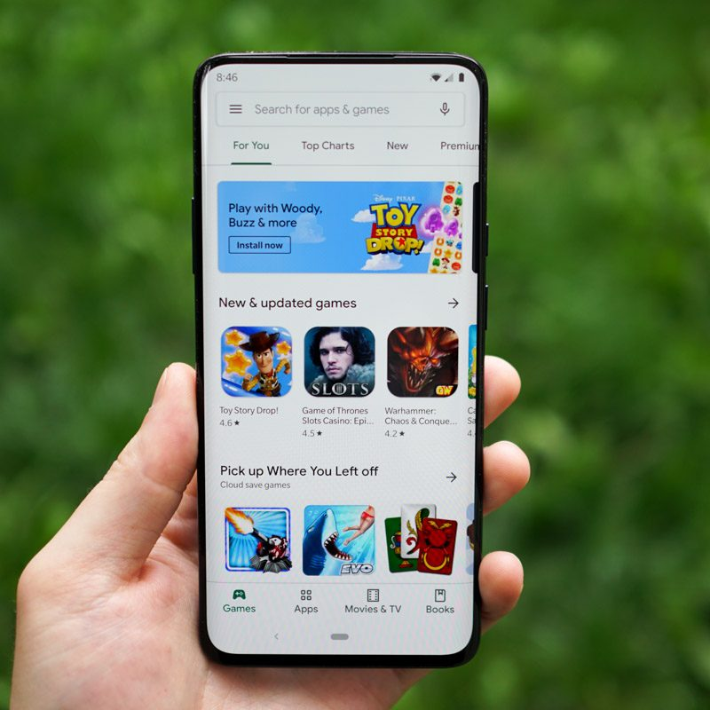 Google Play's Latest Redesign is Rolling Out, Brings That