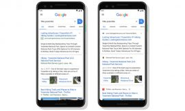 New Google Search Mobile