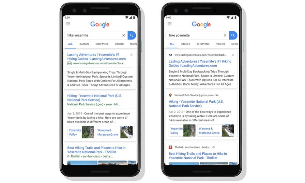 Google Search On Mobile Gets Sneakier Ads Website Branding