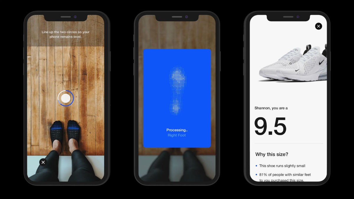 Nike Fit Feature Measures Your Feet Using Augmented Reality - Droid Life