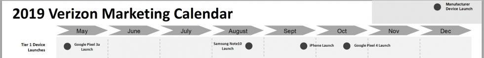 Verizon Pixel 4 Release