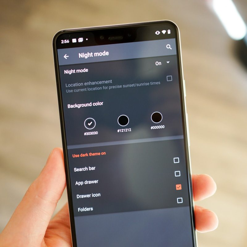 Nova Launcher Adds 3 Different Color Choices for Night Mode – Droid Life
