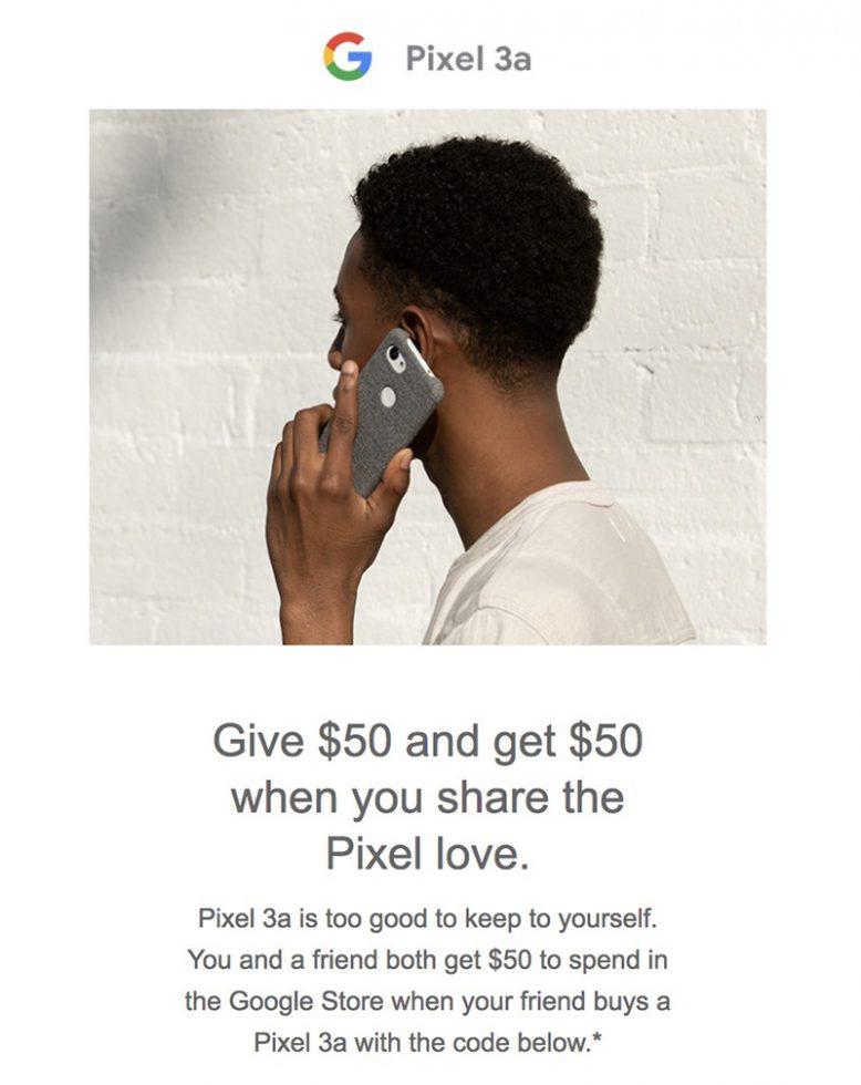 Pixel 3a $50 Off