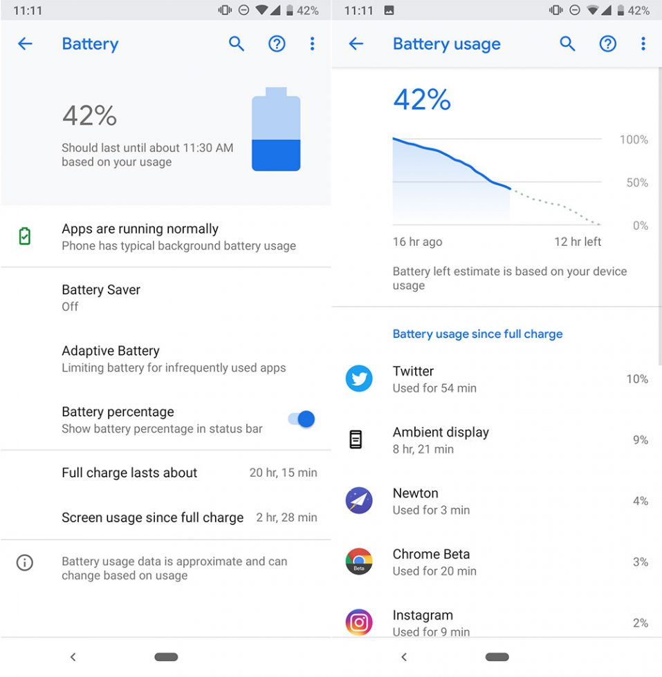 Pixel 3a Battery