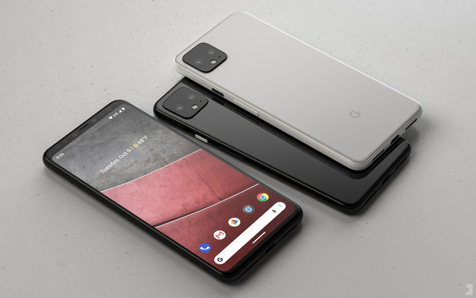 Pretty Pixel 4 Renders