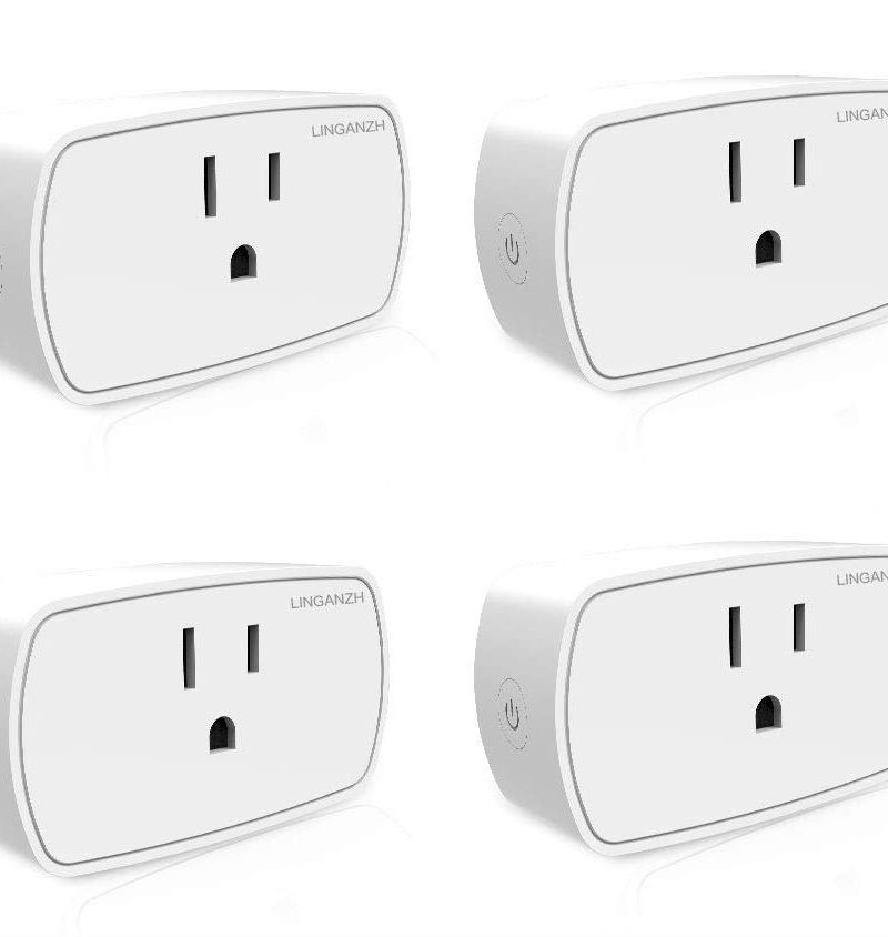 DEAL: Get a 4-Pack of WiFi Smart Plugs for $18 (Google Assistant Compatible)