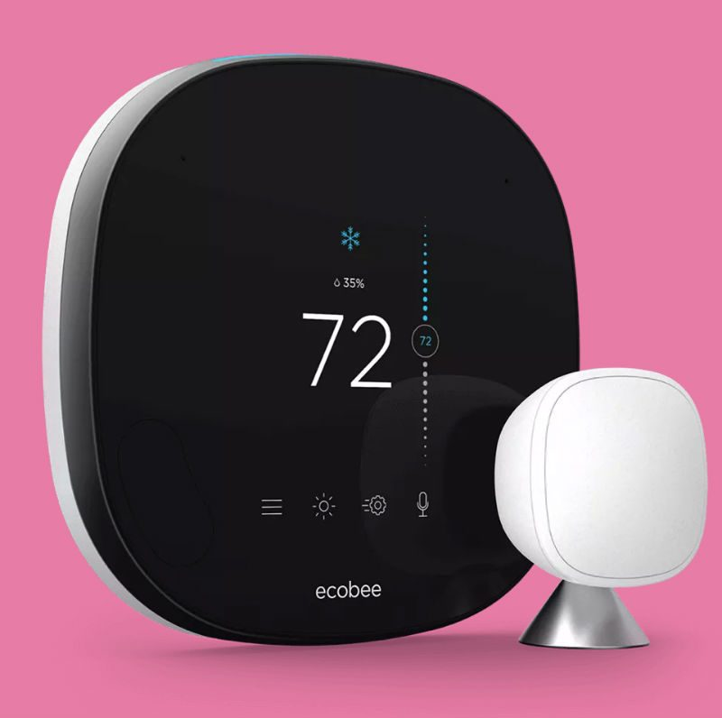 Ecobee U2019s New  249 Smart Thermostat Can Make Phone Calls