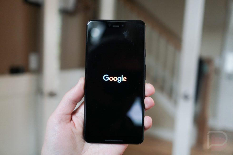 Android Q Beta 5 Dark Boot
