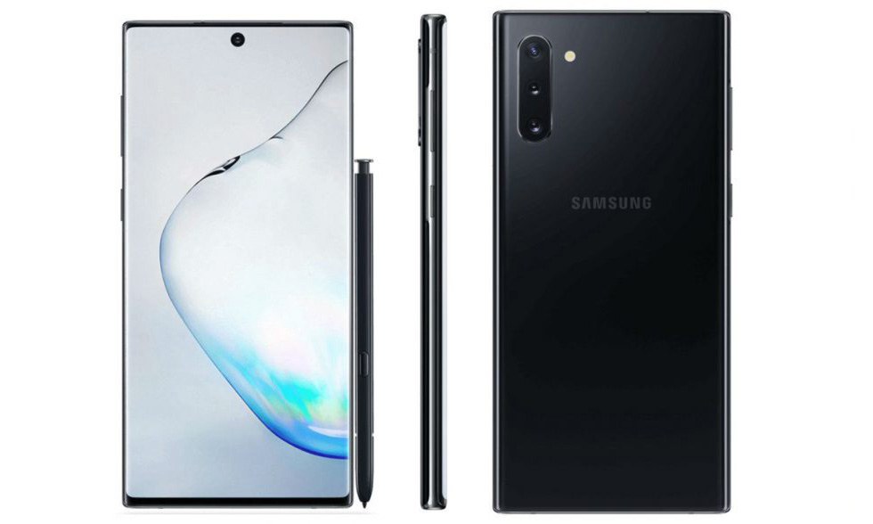 Galaxy Note 10 Black 1 - Galaxy Note 10, Note 10+ Specs Reported to Include a Processor, Display, and Possibly Internal Storage