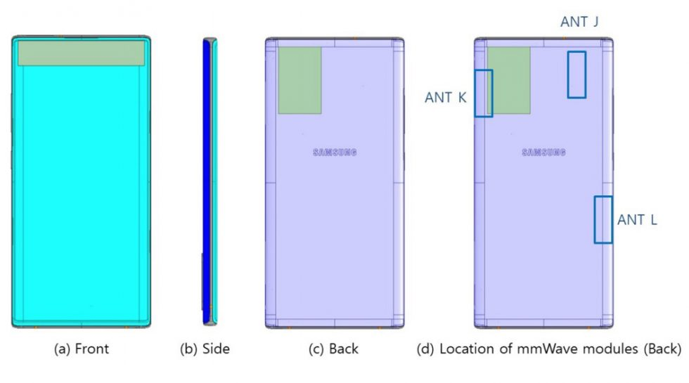 Galaxy Note 10 5G FCC