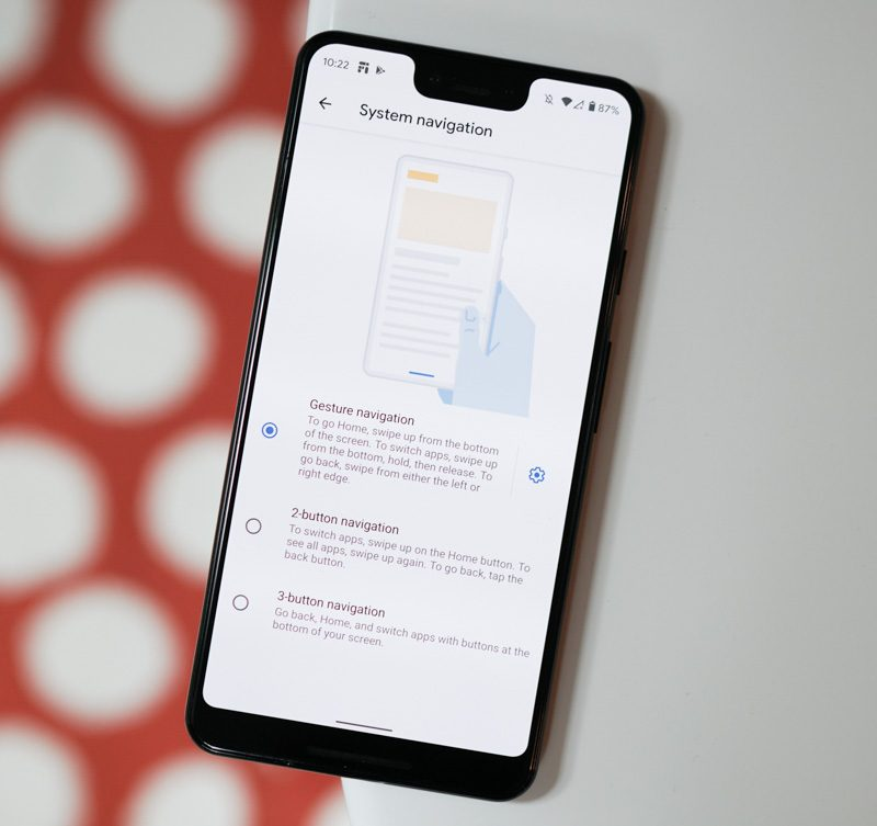 Android Q Beta 6 Tries to Fix Its Bad Gesture Navigation, Probably