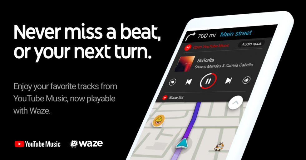 Waze Gets YouTube Music Integration, Because That's