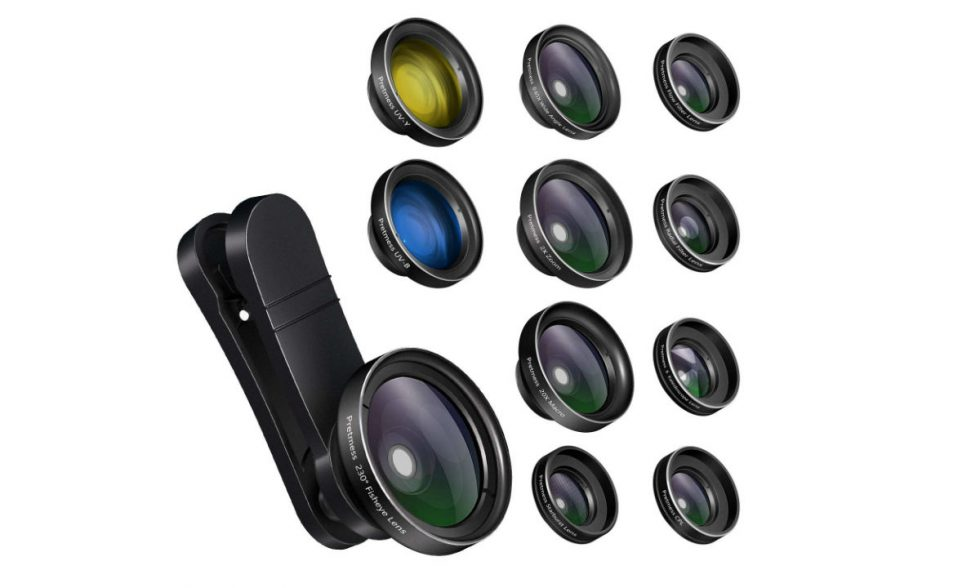 Camera Lenses 980x588 - DEAL: Get 9 Different Clip-on Camera Lenses for Your Phone for Just $10 (50% Off)