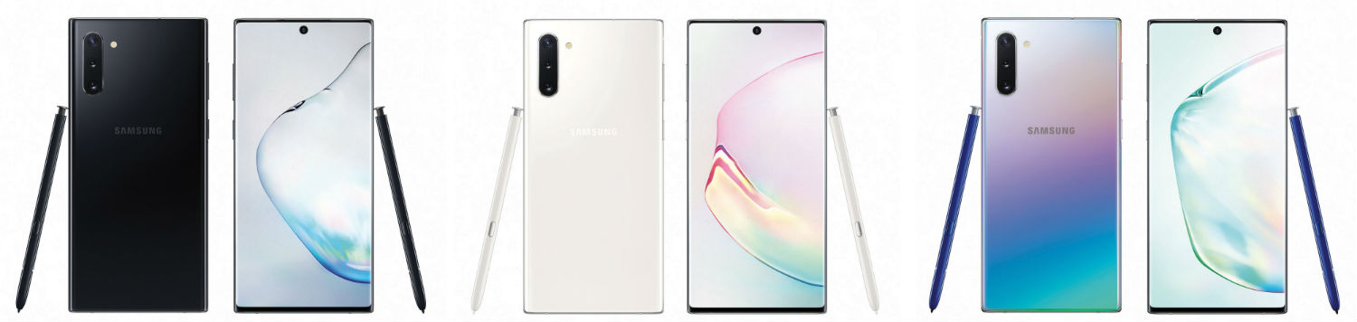 Galaxy Note 10 - Here's the Galaxy Note 10 in Most of Its Pretty Colors