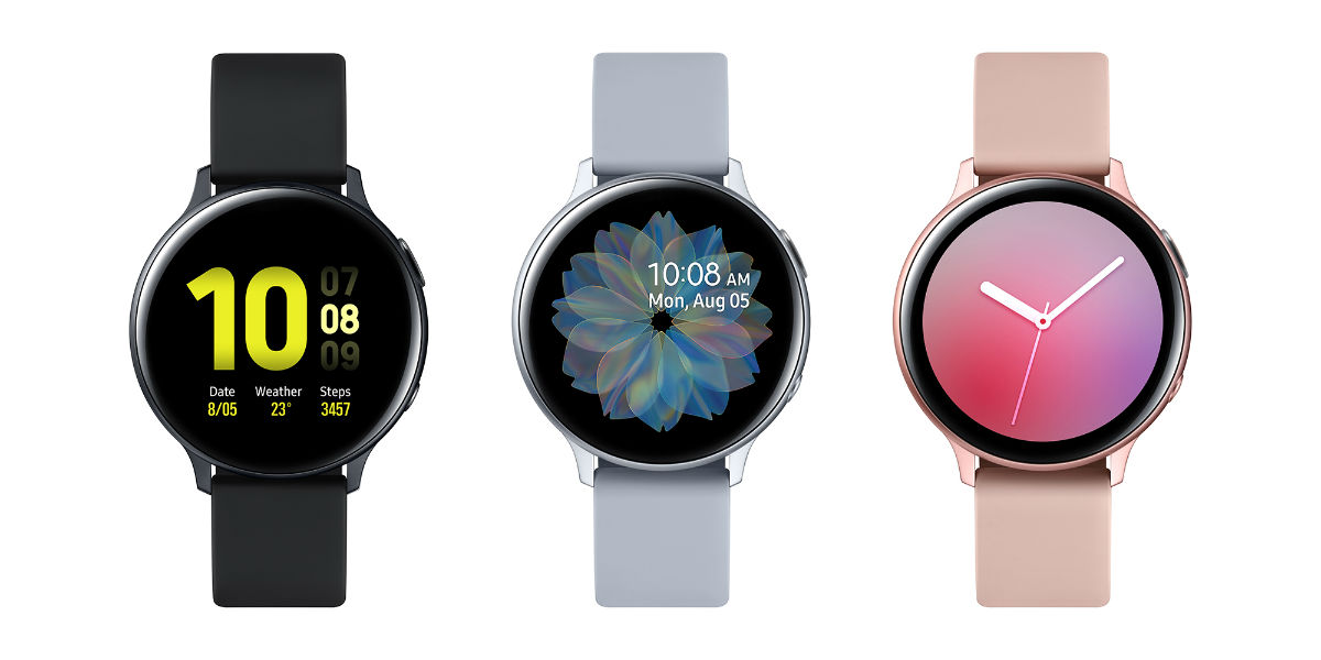 Samsung Galaxy Watch Active2 replaces the rotating bezel with a digital one
