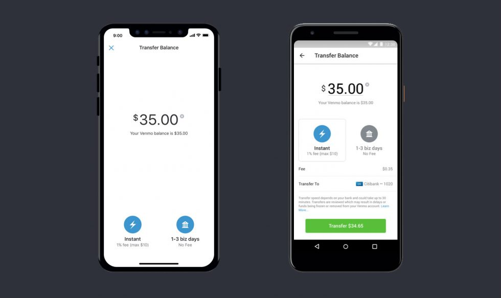 Venmo Can Now Instantly Transfer Funds to Linked Bank