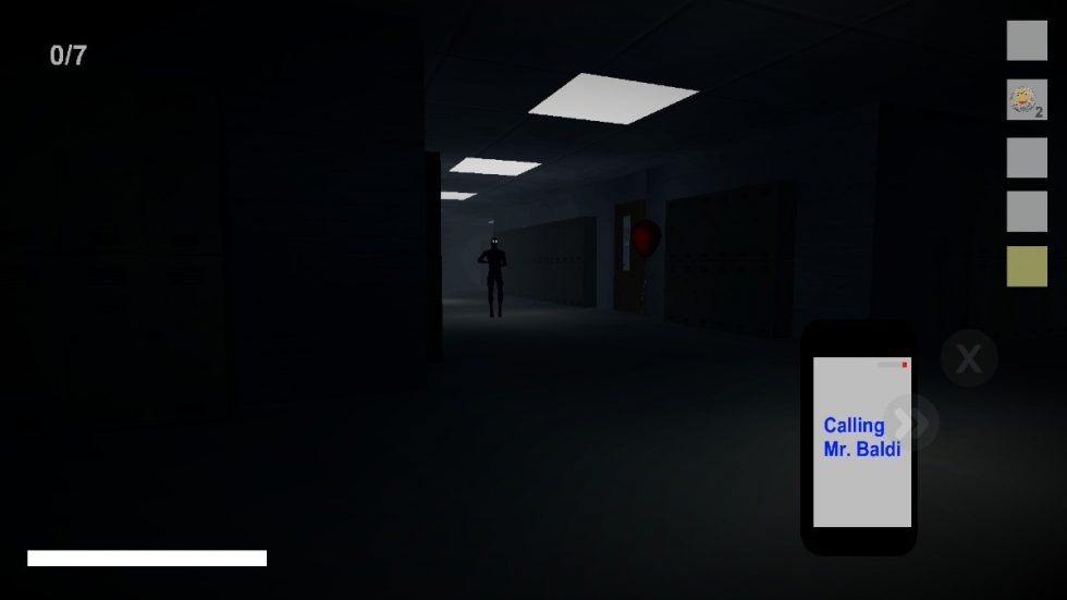 Baldimore's Highschool, a Horror Game I Won't Play, Released