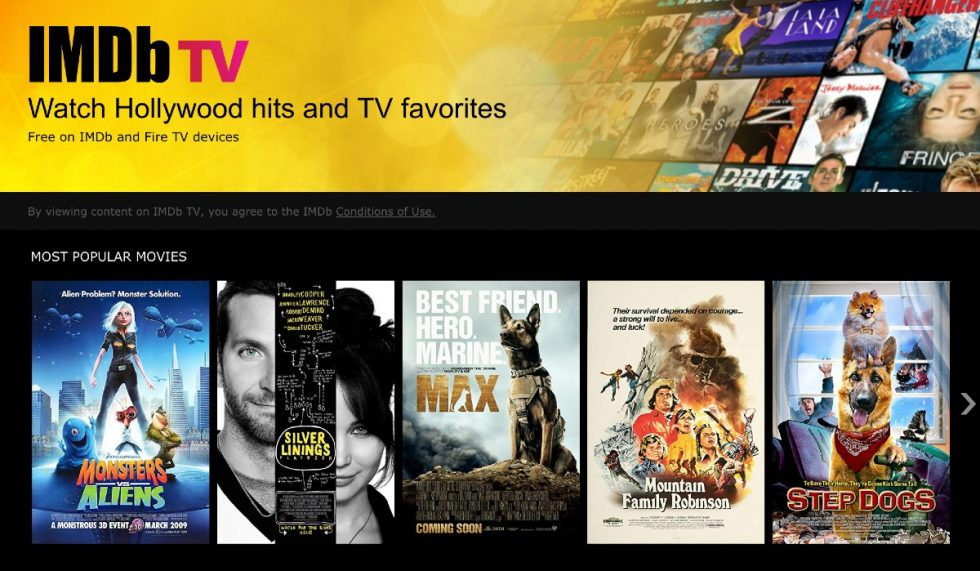 IMDb App Update Brings Actual Movie and TV Show Streaming