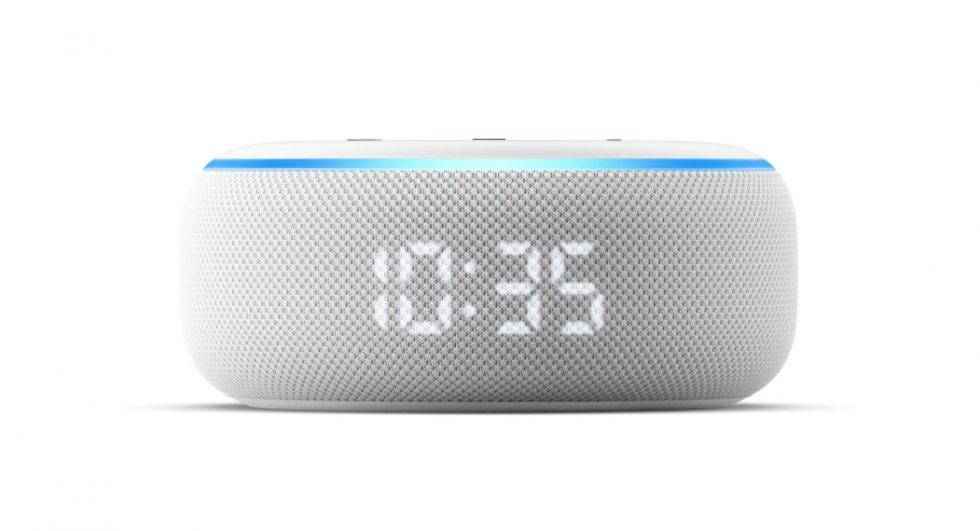 Amazon Echo Dot Clock