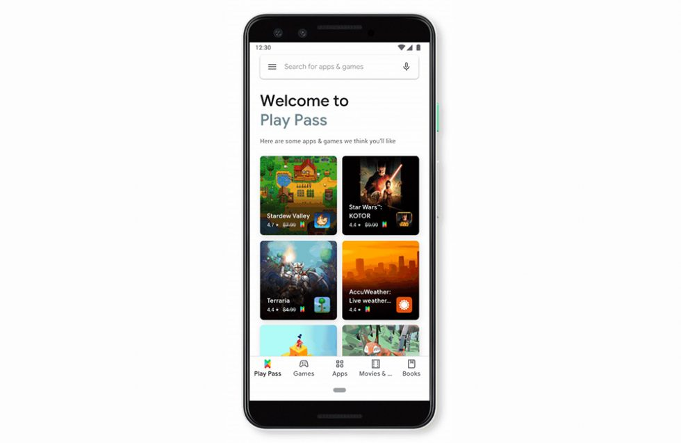 Google Play Pass Sign-Up