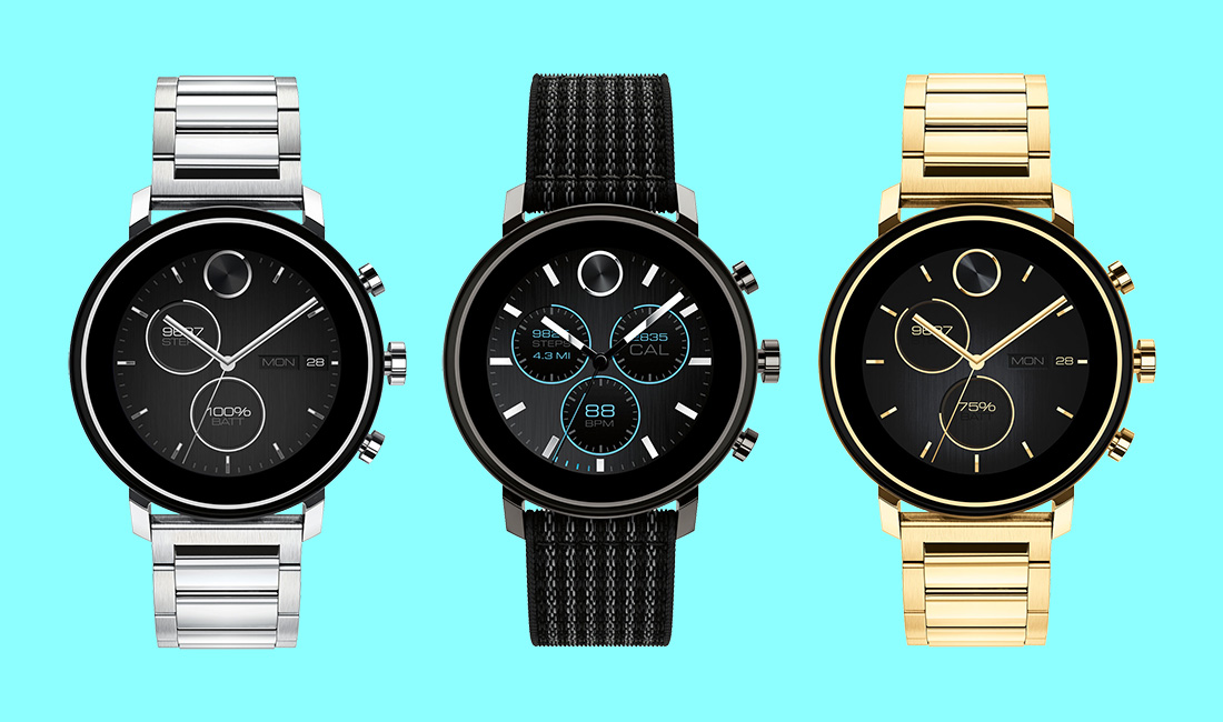 Movado's new smartwatch packs a heart rate monitor and programmable buttons