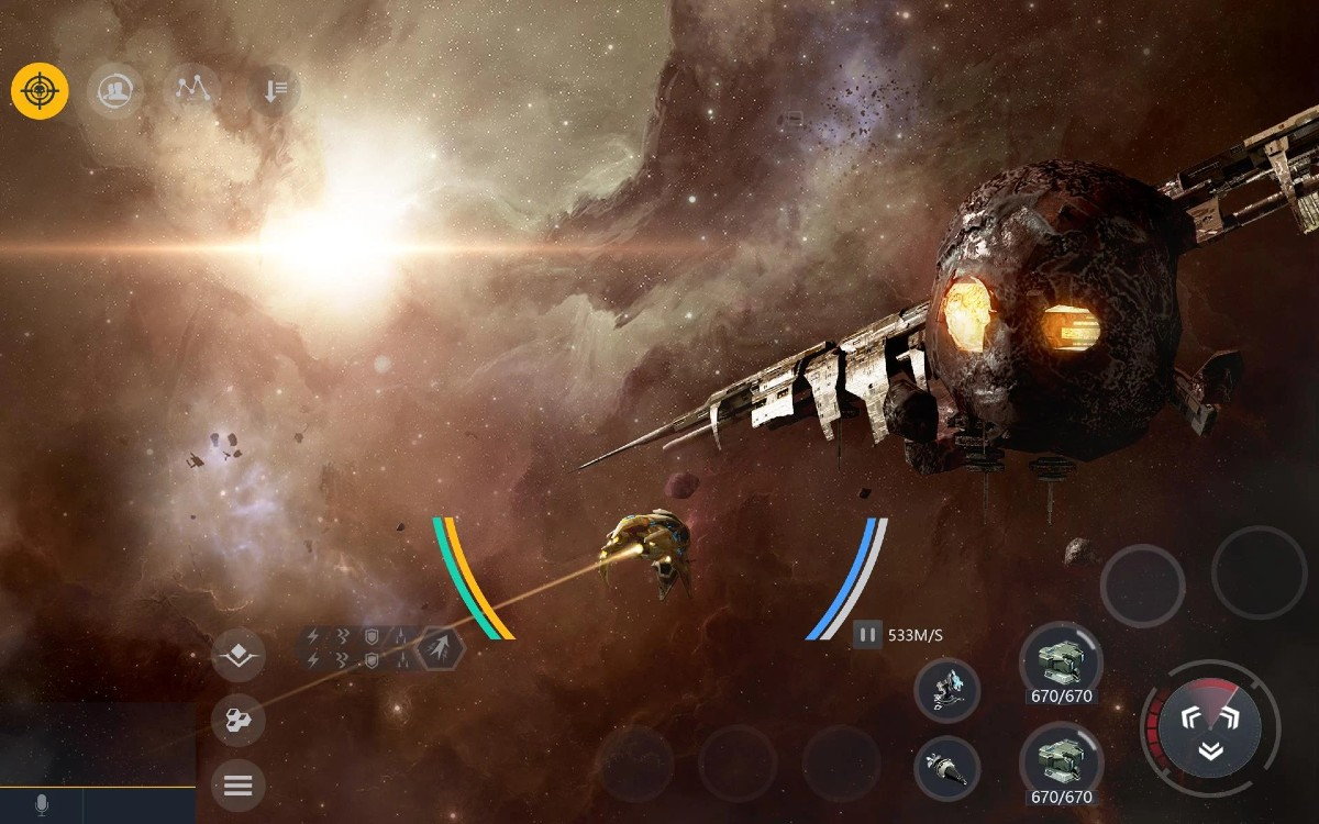 second galaxy 2 - Second Galaxy Available for Android, Reminds Me a Lot of EVE Online
