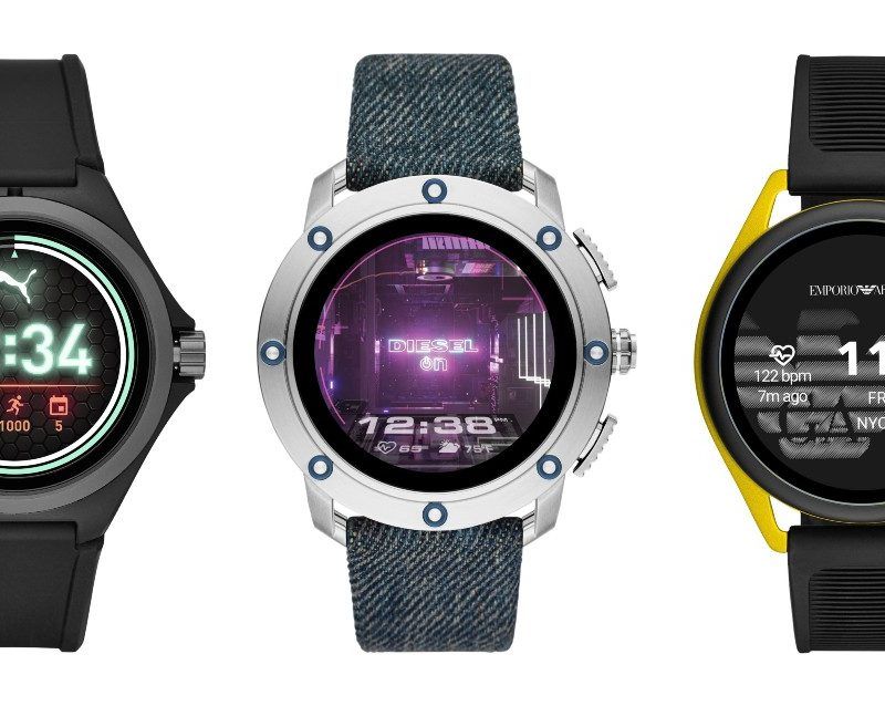 Puma, Diesel, and Emporio Armani Have New Wear OS Watches