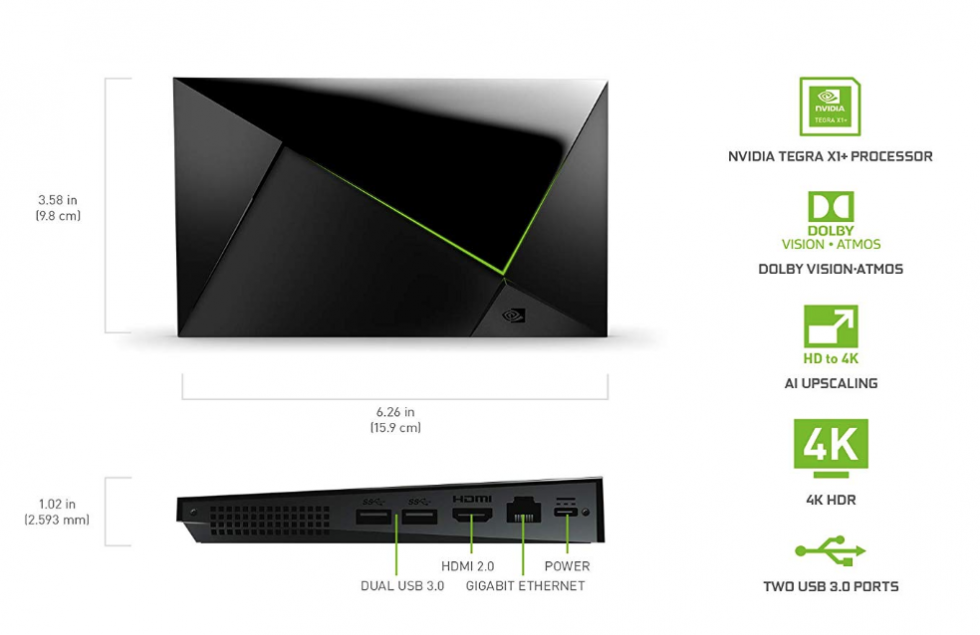 New NVIDIA SHIELD TV Pro