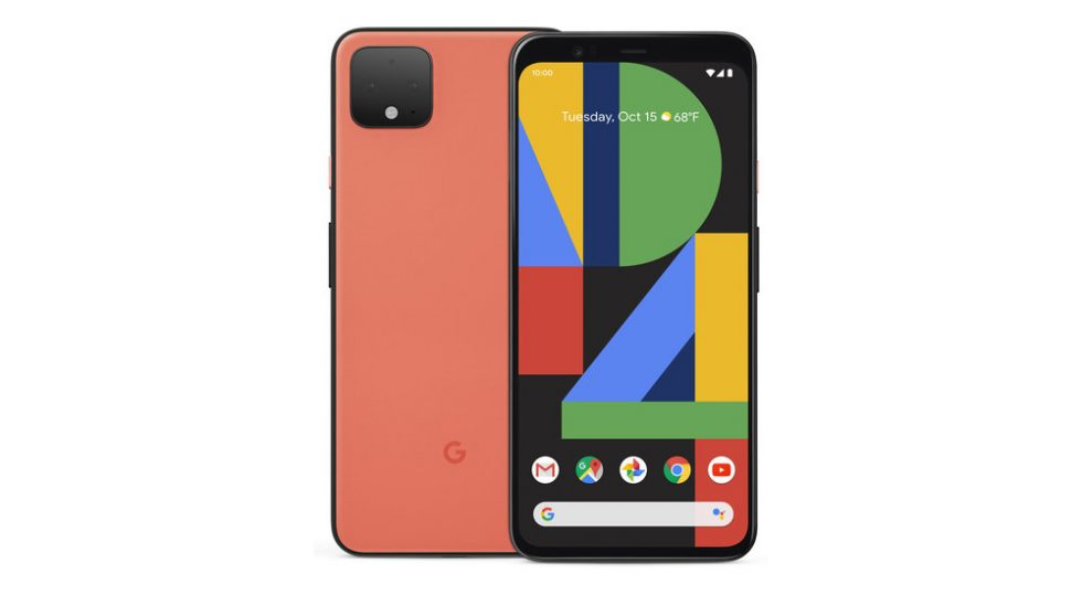 Oh So Orange Pixel 4