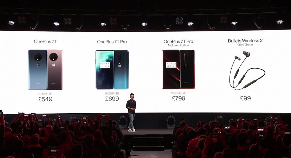 OnePlus 7T Pro Pricing