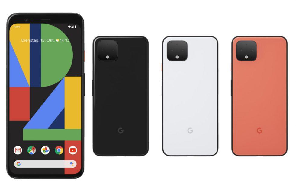 Pixel 4 Colors