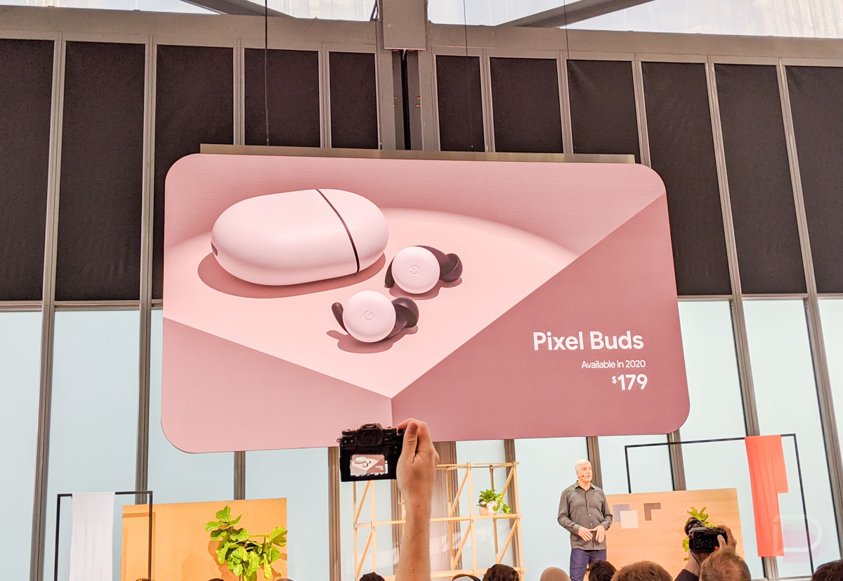 Made by Google 2019: Google launches truly wireless Pixel Buds