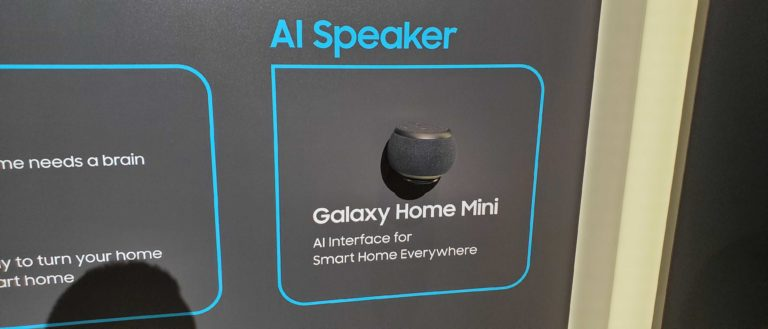 galaxy home mini 2 768x329 - Samsung Unveils Another Smart Speaker That May Never Launch
