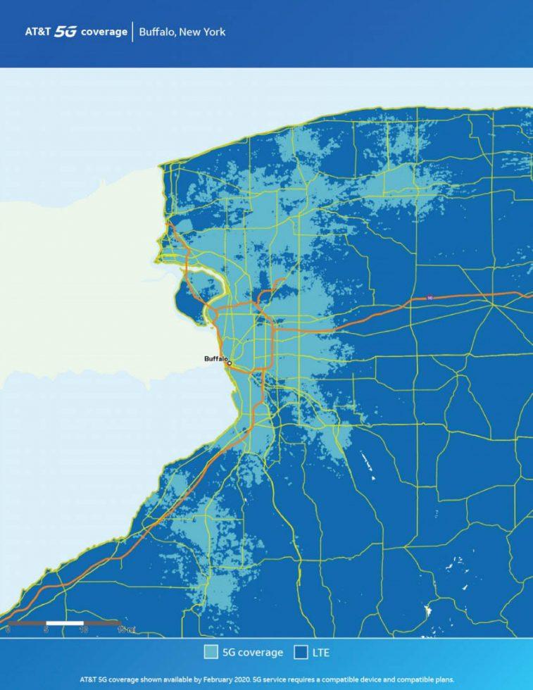 ATT Buffalo 5G Map