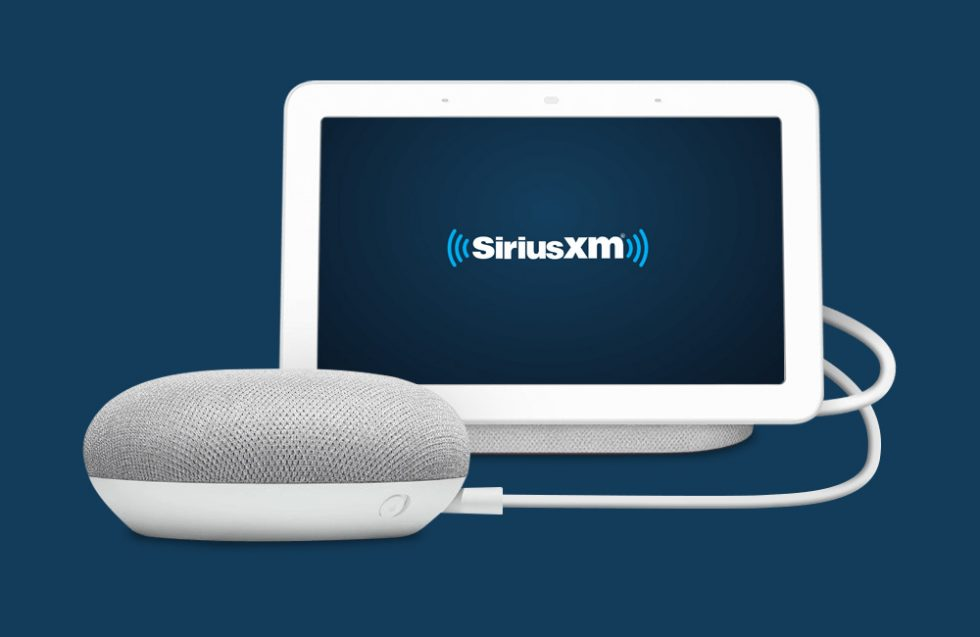 Free SiriusXM Trial, Google Home