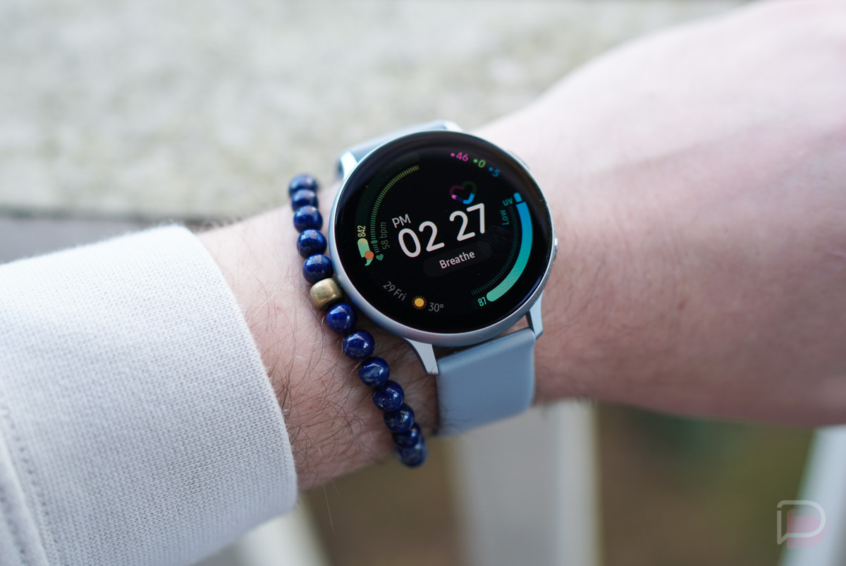 google assistant on galaxy watch
