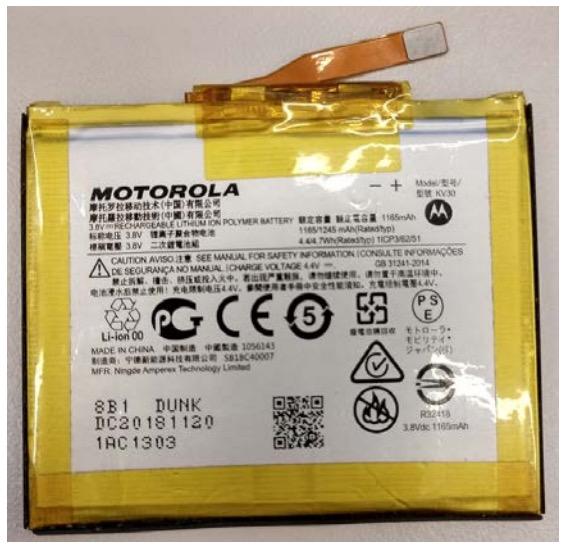 Moto Razr Battery