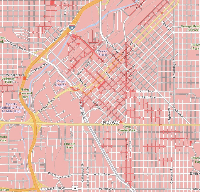Denver Verizon 5G Map