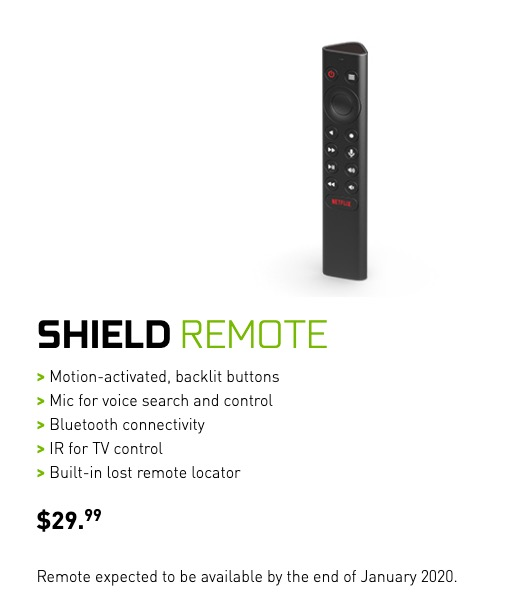 Buy New SHIELD TV Remote