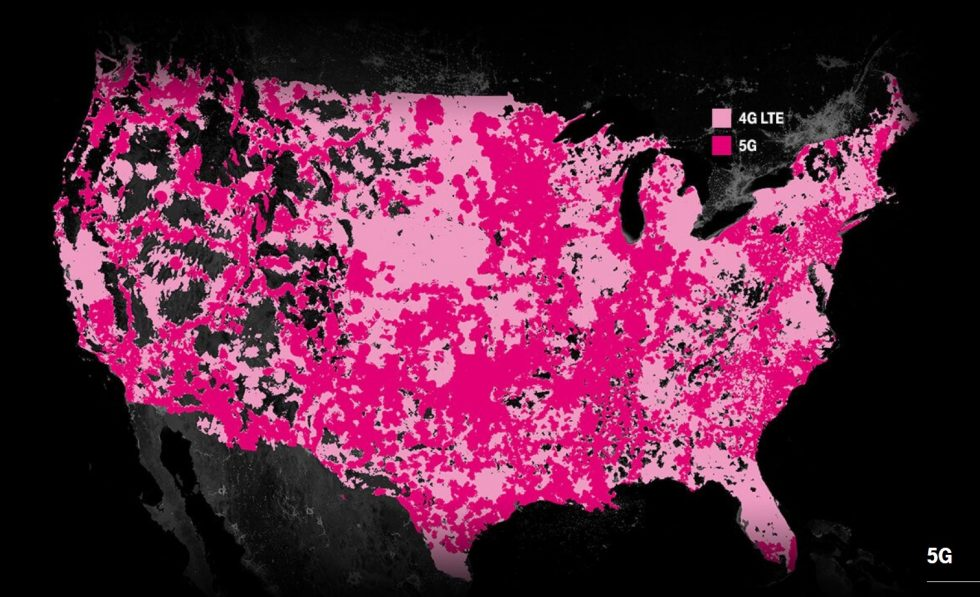 T-Mobile 5G Map