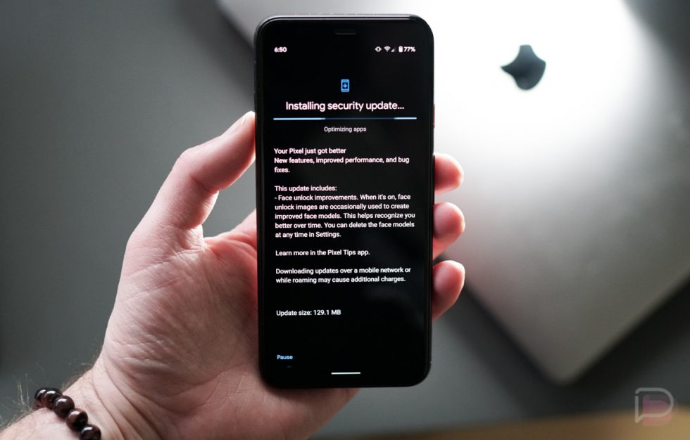 Pixel 4 December Update
