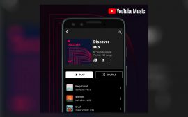 YouTube Music Discover Mix