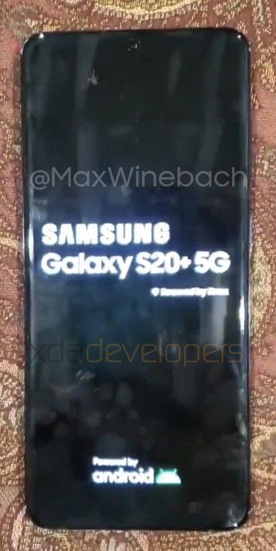 Galaxy S20 Leak