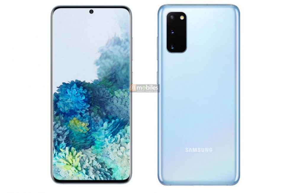 Fresh Samsung Galaxy S20, S20+ Renders for You