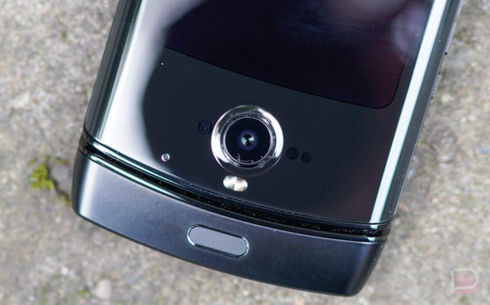 Motorola Razr Camera