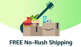 Amazon Free No-Rush Shipping