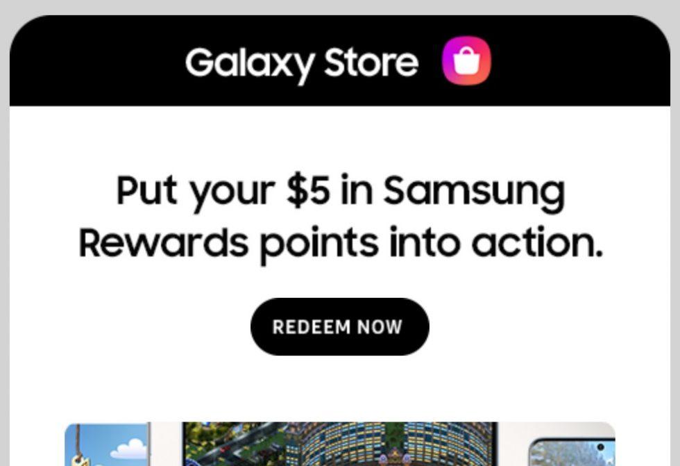 Samsung Free Rewards