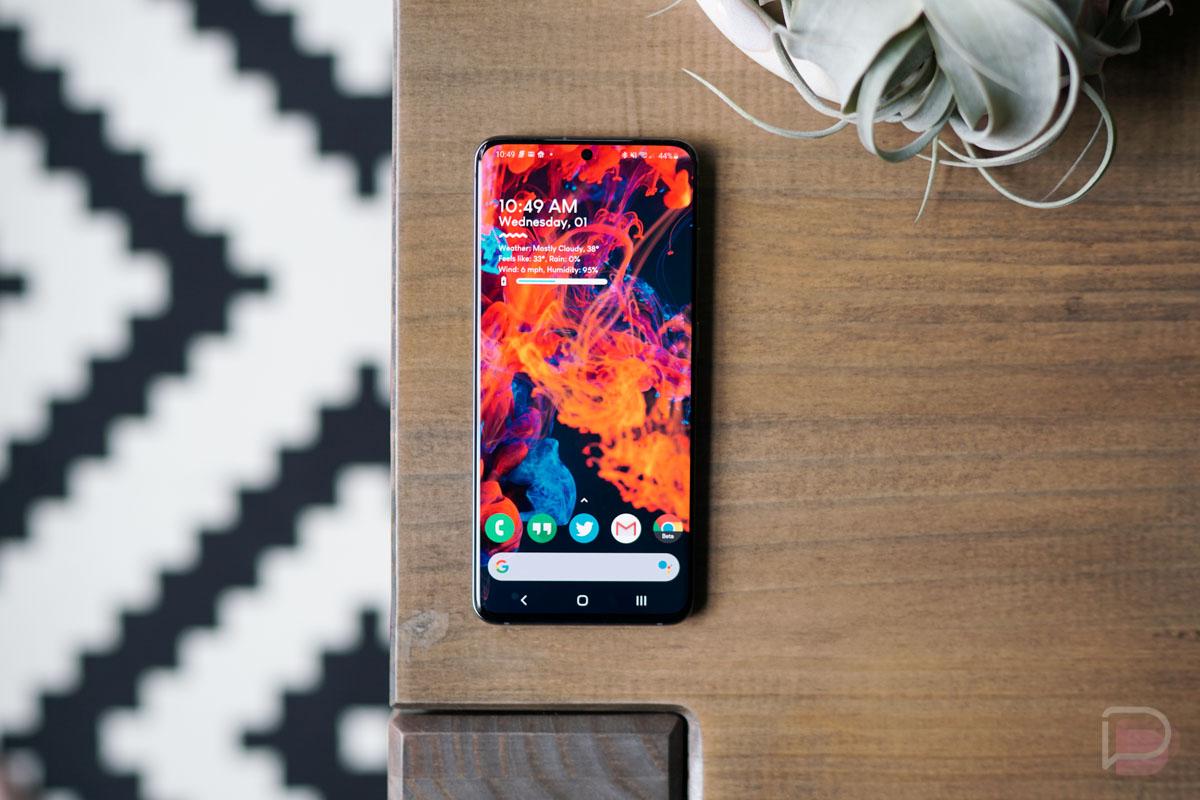 Galaxy S20 Display