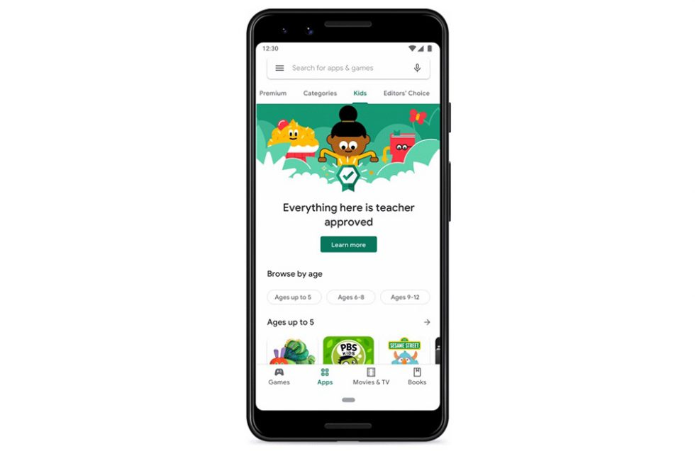 Google Play Teach Approved